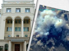 Video footage of destruction of Armenian artillery equipment