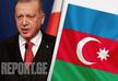 Президент Турции прибыл с официальным визитом в Азербайджан - ФОТО