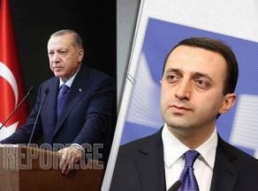 Эрдоган поздравил Гарибашвили с назначением на пост премьер-министра