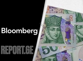 Dollar worth GEL 3.2288 on Bloomberg