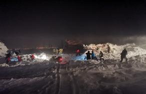 В России в результате схода снежной лавины погибли 2 человека - ФОТО