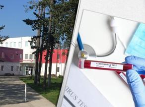 В Кутаисскую инфекционную больницу поместили четырех зараженных COVID-19