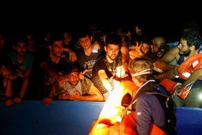 В Средиземном море спасены 394 мигранта