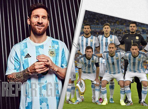 Argentine has a new uniform - VIDEO