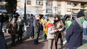 ესპანეთში კონსტიტუციის დასაცავად საპროტესტო აქციები მიმდინარეობს