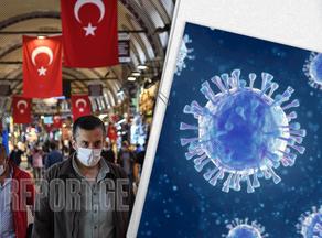 თურქეთში კორონავირუსის 62 000-მდე ახალი შემთხვევა დაფიქსირდა