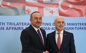 Davit Zalkaliani meeting Turkish counterpart at Ceremonial Palace