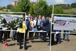 В Ахалцихе строится спортивный комплекс