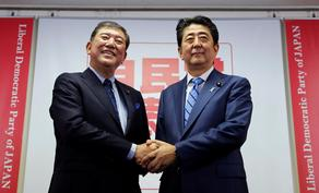 იაპონიის პრემიერობისთვის 4 კანდიდატი იბრძოლებს