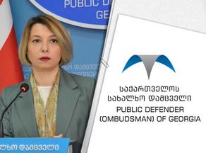 Ombudsman responds to video footage featuring PM Gharibashvili's underage children