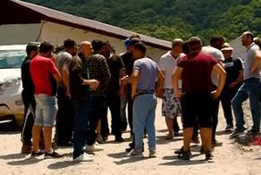 Строители Рикотского тоннеля объявили забастовку