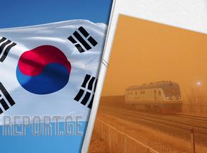 Южную Корею охватила мощная пылевая буря