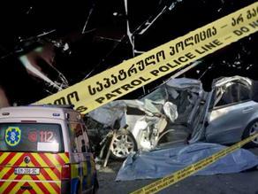 Трагедия в Боржоми - в результате ДТП погиб несовершеннолетний