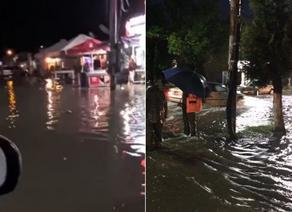 Heavy rainfall led to severe flooding in Georgia's Kobuleti municipality