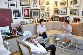 Теа Цулукиани встретилась с руководителями Национального балета