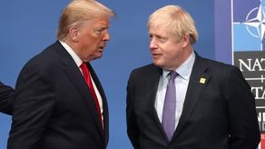 Между Борисом Джонсоном и Дональдом Трампом состоялся телефонный разговор