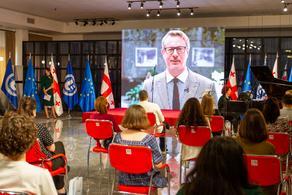 ევროპის უნივერსიტეტში ჟან მონეს მოდულის დაჯილდოების ცერემონია გაიმართა