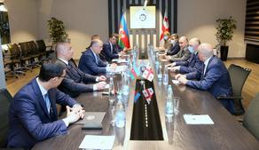Grigol Liluashvili meets Chief of State Security Service of Azerbaijan