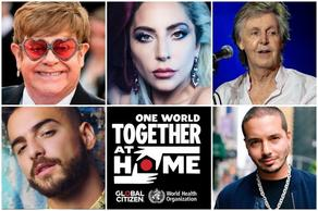 World stars in support of WHO - VIDEO