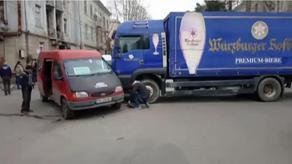 გურჯაანში ავტოსაგზაო შემთხვევისას 4 ადამიანი დაშავდა