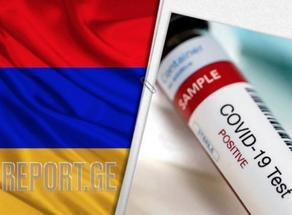 В Армении выявлено 103 новых случая COVID-19