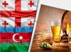 Volume of beer exported from Georgia highest to Israel, Russia and Azerbaijan