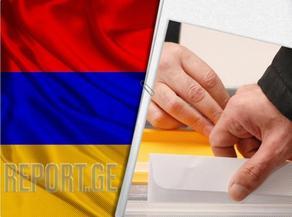 Известны результаты досрочных парламентских выборов в Армении