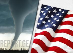 Two people killed in tornado in the US
