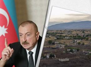 Aliyev says five regions de-occupied