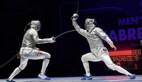 Грузинский саблист обыграл фаворита Олимпиады в Токио