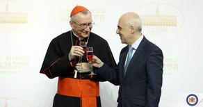 Davit Zalkaliani met with the Secretary of State to Vatikan