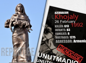 Today marks 29th anniversary of Khojaly tragedy - PHOTO