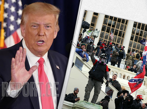 Trump addresses protestors: 'You have to go home now'
