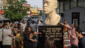 В США в День освобождения рабов открыли Мемориал Джорджу Флойду