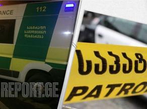 თბილისში, ავარიის შედეგად პოლიციელები დაშავდნენ