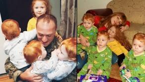 შეხვედრა ჯარიდან დაბრუნებულ მამასთან - ემოციური ვიდეო
