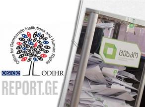 БДИПЧ/ОБСЕ опубликовало итоговый отчет о выборах 31 октября