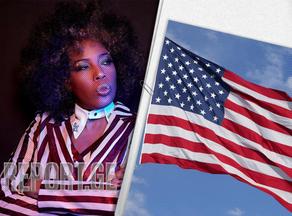 მომღერალი მეისი გრეი აშშ-ის დროშის შეცვლას ითხოვს