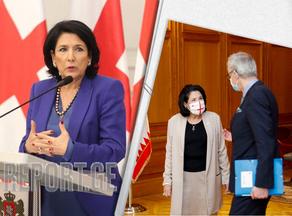 Саломе Зурабишвили встретилась с Кристианом Даниэльсоном