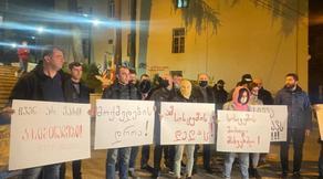 Время действовать - протест в Тбилиси