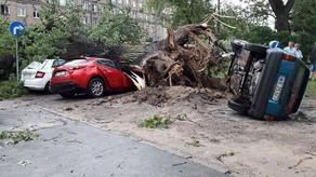 Severe weather conditions in Poland