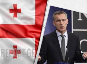 Jens Stoltenberg says they will keep supporting Georgia's and Ukraine's reform efforts