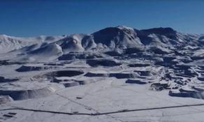 Driest desert in the world covered with snow