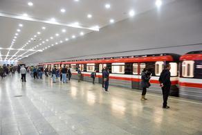 На Сабурталинской линии метро задержка