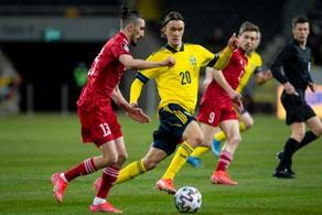 1:0 - მეორე ტაიმი  შვედების უპირატესობით დაიწყო