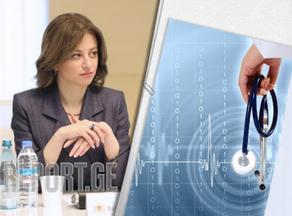 ჯანდაცვის მინისტრი სააკაშვილზე ინფორმაციას ავრცელებს