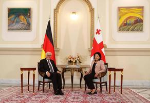 საქართველოსა და გერმანიის პრეზიდენტების ოფიცოალური ვახშამი კახეთში გაიმართება