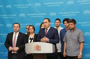 Strategy Aghmashenebeli political platform registers Higher Education Project in Parliament