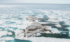 Scientists discover island in the extreme north