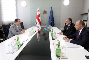 Chkhenkeli hosts Azerbaijani Ambassador and Head of SOCAR Georgia